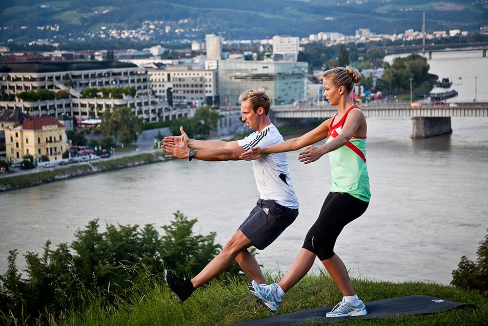 Fitnesscheck im Freien